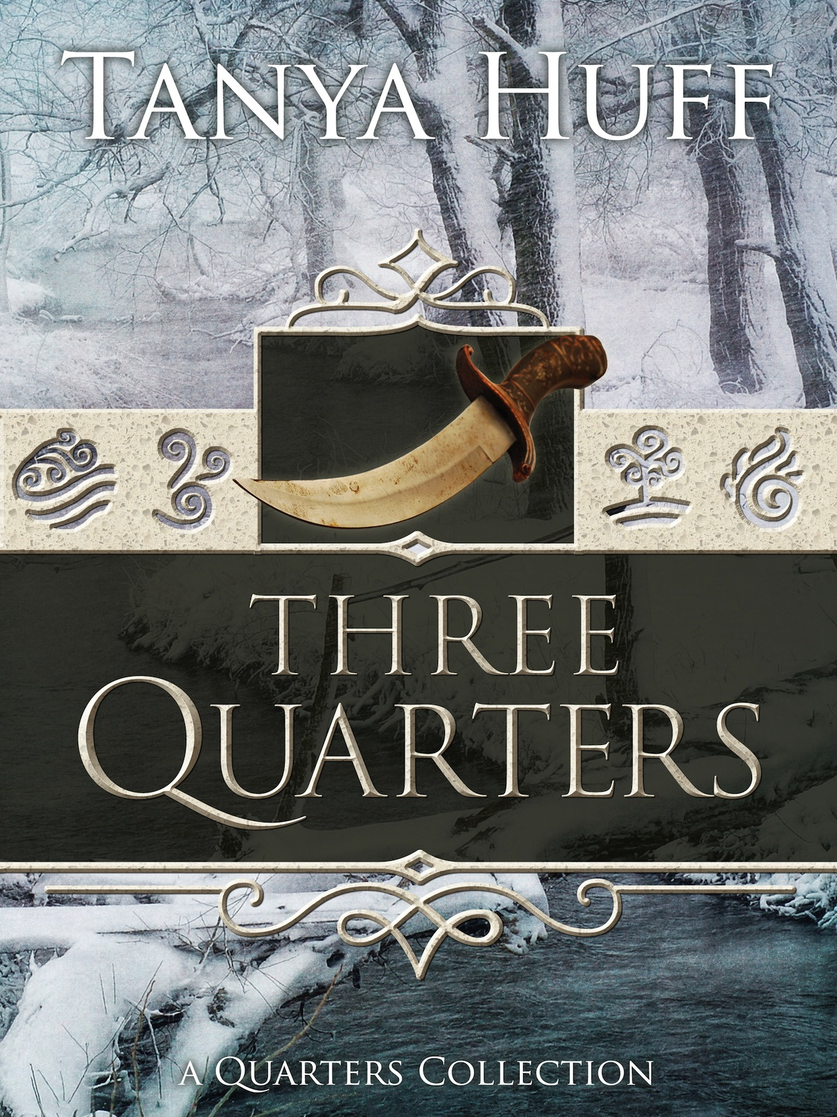 Three Quarters by Tanya Huff